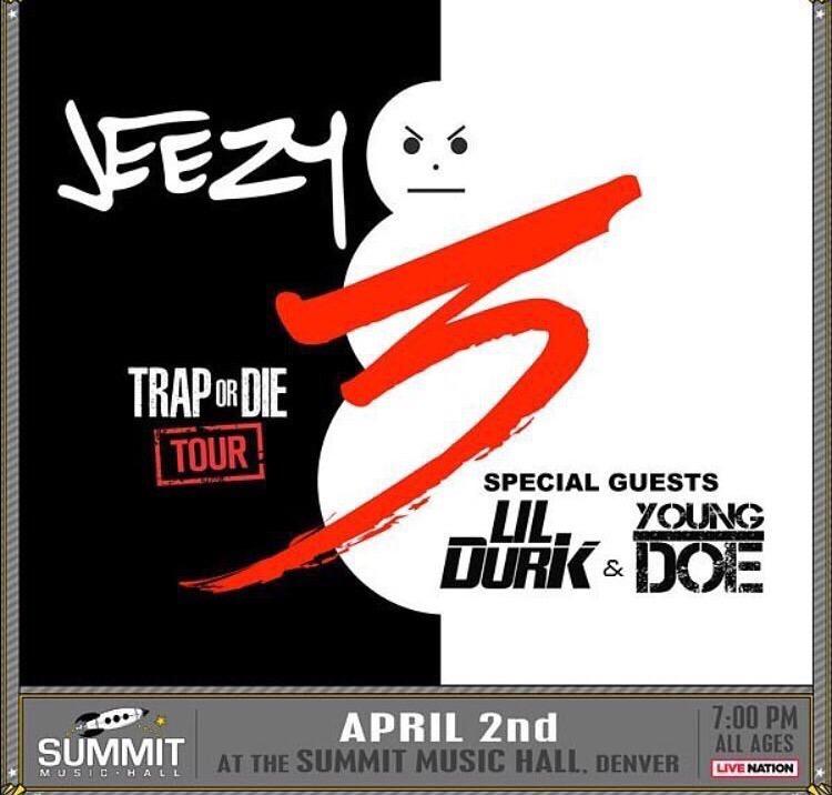 Jeezy Trap Or Die Tour