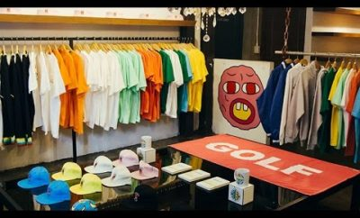 d2148ea3a77304 Tyler The Creator Officially Opens a GOLF Store on Fairfax in Los Angeles!